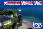 American Samoa Phone Card