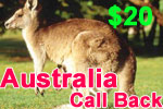Australia Call Back Card