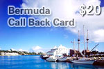 Bermuda Call Back Card