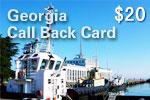 Georgia Call Back Card