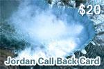 Jordan Call Back Card