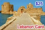 Lebanon Phone Card