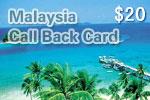 Malaysia Call Back Card