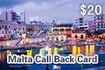 Malta Call Back Card