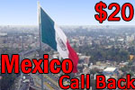 Mexico Call Back Card