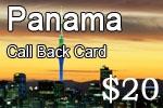 Panama Call Back Card