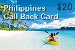 Philippines Call Back Card