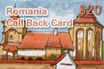 Romania Call Back Card