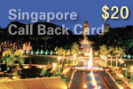 Singapore Call Back Card