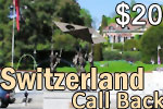 Switzerland Call Back Card