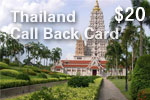 Thailand Call Back Card