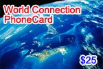 World Connection Phone Card