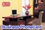 Business Phone Card