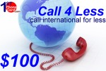 Call4less $100