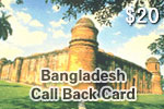 Bangladesh Call Back Card
