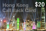 Hong Kong Call Back Card