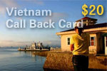 Vietnam Call Back Card