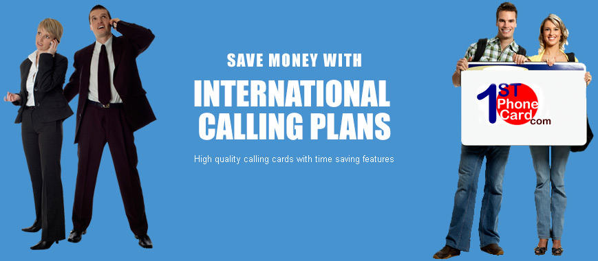 international-calling card
