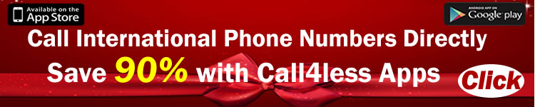 Make calling card calls without having to dial access numbers or pin numbers with Call4less or Skydial Apps for iPhone and Android Phones