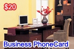 Business Phone Card